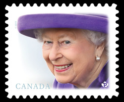 Her Majesty Queen Elizabeth II Canada Postage Stamp