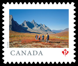 Tombstone Territorial Park - Yukon Canada Postage Stamp | From Far and Wide