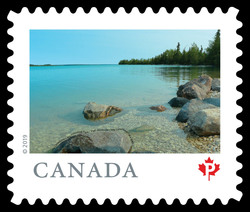Little Limestone Lake Provincial Park - Manitoba Canada Postage Stamp | From Far and Wide