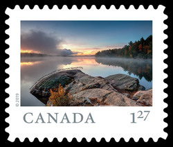 Smoke Lake, Algonquin Provincial Park - Ontario Canada Postage Stamp | From Far and Wide