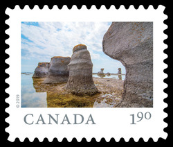 Mingan Archipelago National Park Reserve - Quebec Canada Postage Stamp | From Far and Wide