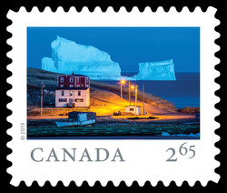 Iceberg Alley Near Ferryland - Newfoundland Canada Postage Stamp | From Far and Wide