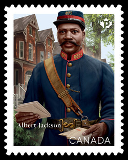 Albert Jackson Canada Postage Stamp | Black History Month