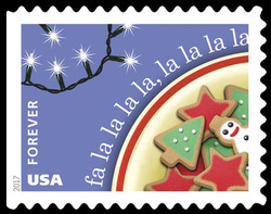 Deck the Halls United States Postage Stamp | Christmas Carols