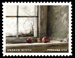 Frostbitten - 1962 United States Postage Stamp | Andrew Wyeth