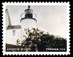 Sailor's Valentine - 1985 United States Postage Stamp | Andrew Wyeth
