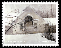 North Light - 1984 United States Postage Stamp | Andrew Wyeth