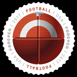 Football United States Postage Stamp | Have a Ball!