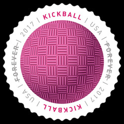 Kickball United States Postage Stamp | Have a Ball!