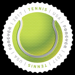 Tennis Ball United States Postage Stamp | Have a Ball!