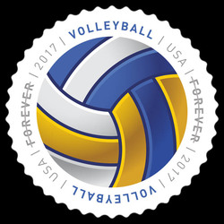 Volleyball United States Postage Stamp | Have a Ball!