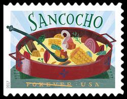 Sancocho United States Postage Stamp | Delicioso