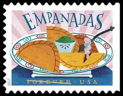 Empanadas United States Postage Stamp | Delicioso
