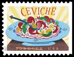 Ceviche United States Postage Stamp | Delicioso
