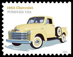 1953 Chevrolet United States Postage Stamp | Pickup Trucks
