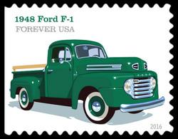 1948 Ford F-1 United States Postage Stamp | Pickup Trucks