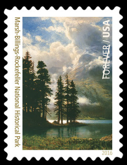 Marsh-Billings-Rockefeller National Historical Park - Vermont United States Postage Stamp | National Parks