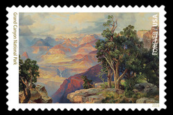 Grand Canyon National Park - Arizona United States Postage Stamp | National Parks
