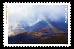 Haleakala National Park - Hawaii United States Postage Stamp | National Parks