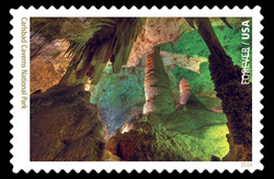 Carlsbad Caverns National Park - New Mexico United States Postage Stamp | National Parks