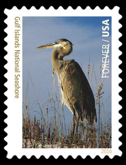 Gulf Islands National Seashore - Florida and Mississippi United States Postage Stamp | National Parks