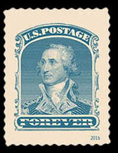 1860 90-cent George Washington United States Postage Stamp | Classics Forever
