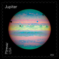 Jupiter United States Postage Stamp | Views of Our Planets