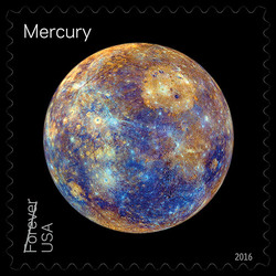 Mercury United States Postage Stamp | Views of Our Planets