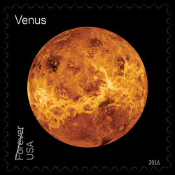 Venus United States Postage Stamp | Views of Our Planets