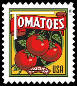 Tomatoes United States Postage Stamp | Summer Harvest