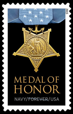 Navy Medal of Honor United States Postage Stamp | Medal of Honor: Vietnam War