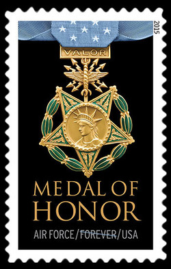Air Force Medal of Honor United States Postage Stamp | Medal of Honor: Vietnam War