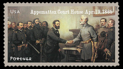 Appomattox Court House - April 9, 1865 United States Postage Stamp | Civil War Sesquicentennial