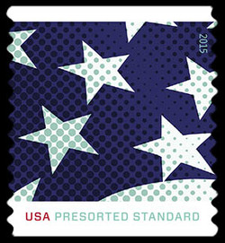 Stars and Stripes - Middle United States Postage Stamp | Stars and Stripes