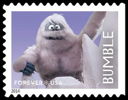 Bumble United States Postage Stamp | Rudolph the Red-Nosed Reindeer