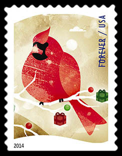 Bird Watching United States Postage Stamp | Winter Fun