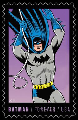 Silver Age Batman United States Postage Stamp | Batman