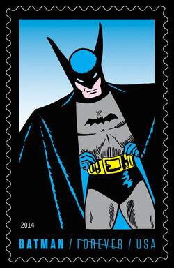 Golden Age Batman United States Postage Stamp | Batman