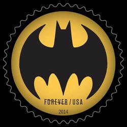 Bat Signal #1 United States Postage Stamp | Batman