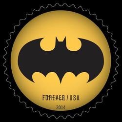 Bat Signal #2 United States Postage Stamp | Batman