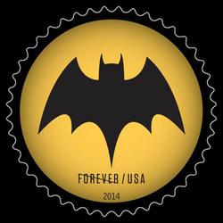Bat Signal #3 United States Postage Stamp | Batman