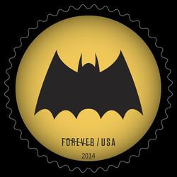 Bat Signal #4 United States Postage Stamp | Batman