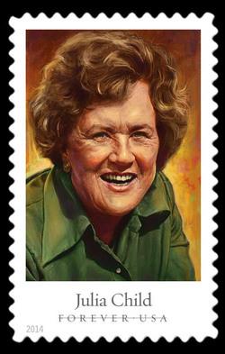 Julia Child United States Postage Stamp | Celebrity Chefs