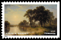 Summer Afternoon - Asher B. Durand United States Postage Stamp | American Treasures