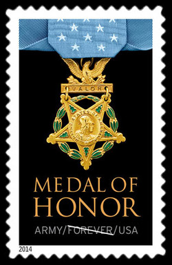 Army Medal of Honor United States Postage Stamp | Medal of Honor: Korean War