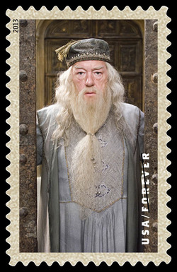 Albus Dumbledore United States Postage Stamp | Harry Potter