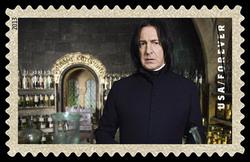 Professor Snape United States Postage Stamp | Harry Potter