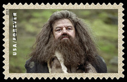 Rubeus Hagrid United States Postage Stamp | Harry Potter