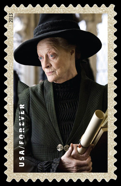 Professor Minerva McGonagall United States Postage Stamp | Harry Potter