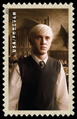 Draco Malfoy United States Postage Stamp | Harry Potter